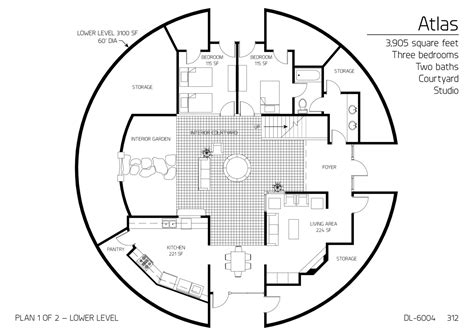 floor plan dl 3215 monolithic dome institute floor plan dl 6004 monolithic dome institute