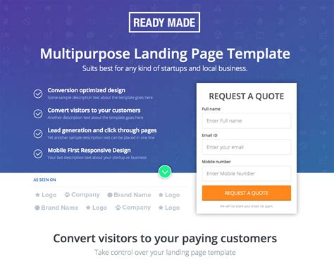 best landing page top 20 of the best landing pages for lead generation