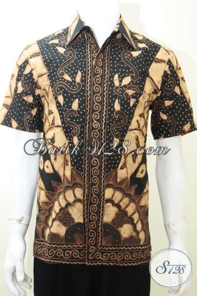 Baju Batik Unique baju kemeja batik tulis unique pria motif sinar matahari