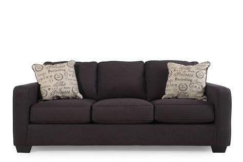 ashley furniture charcoal sofa ashely charcoal sofa alenya mathis brothers