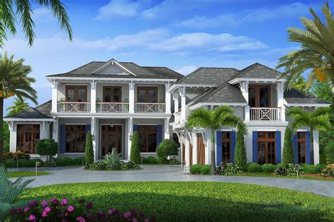 florida home plans upscale florida home plan 66327we 1st floor master