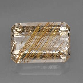 Sherry Topaz 10 02 Ct rutile topaz 26 2ct octagon emerald cut from india