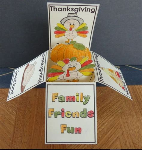 Thanksgiving Pop Up Cards Templates by 17 Best Thanksgiving Images On Students