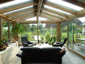 wintergarten aus glas winterg 228 rten aus holz und glas mit ziegeldach carprola for