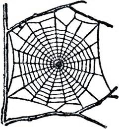 Garden Craft Projects - free spider web clip art the graphics fairy