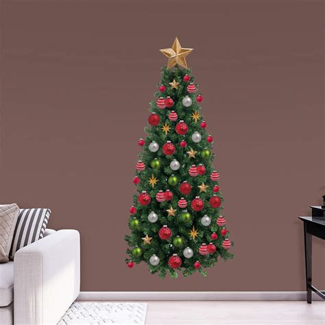 christmas tree wall decal shop fathead 174 for christmas decor