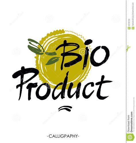 Aufkleber Drucken Kologisch hand skizziertes typografisches element bioprodukt