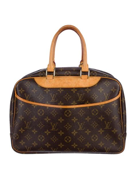 louis vuitton monogram deauville bag handbags lou
