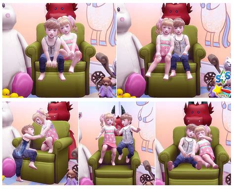 twins toddler pose    luckyday sims  updates