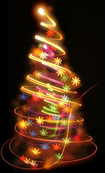 bright halo christmas tree definition picture free stock