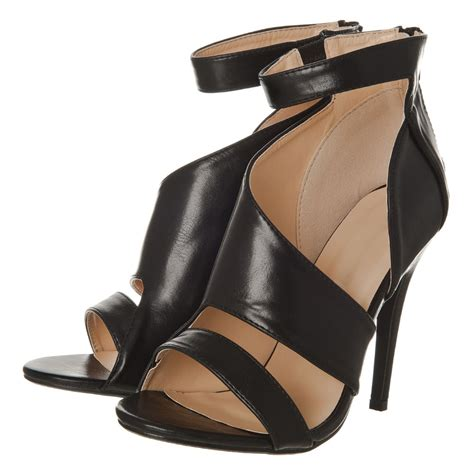 high heel sandals high heel strappy sandal with ankle