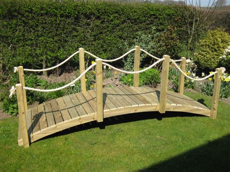 Backyard Landscaping Plans by Timber Bridges From Garden Bridge Uk Specialists In