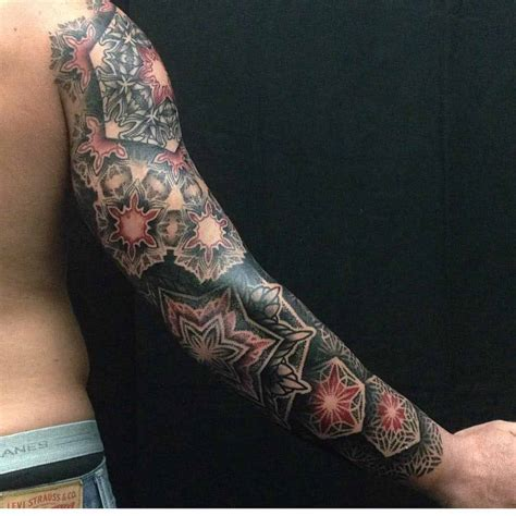 arm sleeves tattoo dotwork sleeve on arm sleeves