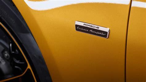porsche exclusive series goodwood 1 307 hp total power