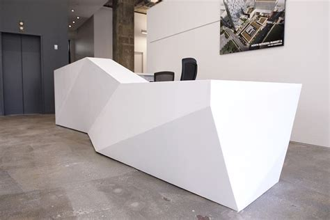 Lobby Reception Desks Studios Architecture Contacted C W Keller To Engineer And