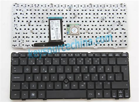 Keyboard Hp Elitebook 2560p hp elitebook 2560p 2570p without frame nordic keyboard dansk tastatur dk hp