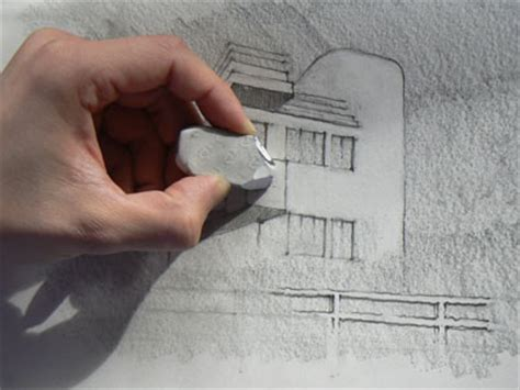 eraser drawing latelier canson
