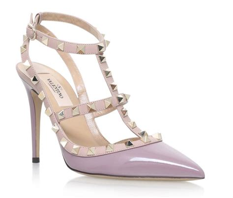 Shoe of the Day: Valentino Rockstud Patent Pumps 100