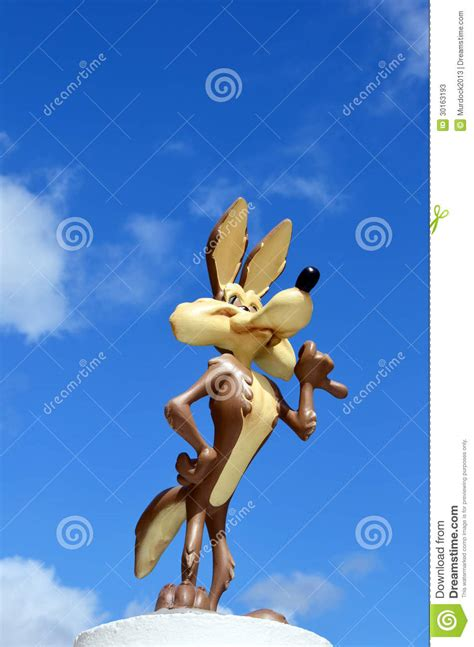 Wb Original Sesuai Poto wile e coyote figure from warner bros editorial stock photo image 30163193