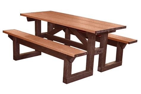 park bench table barco products picnic tables park benches trash tattoo