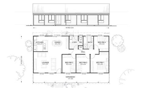 4 bedroom house plans kit homes australian kit homes kit home designs floor plans