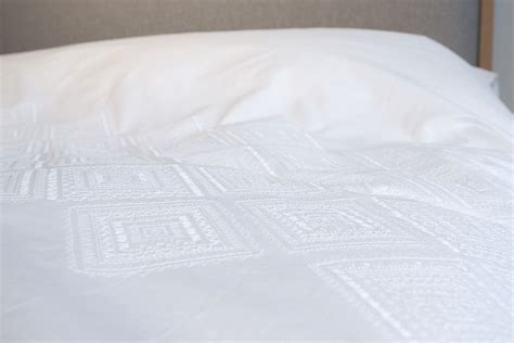 White Cotton Quilt by White Cotton Embroidered Bedding Bed Company