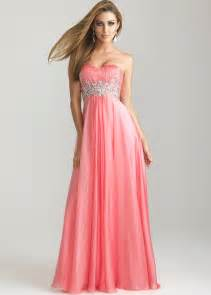 coral strapless sweetheart sequin night moves 6720 dresses