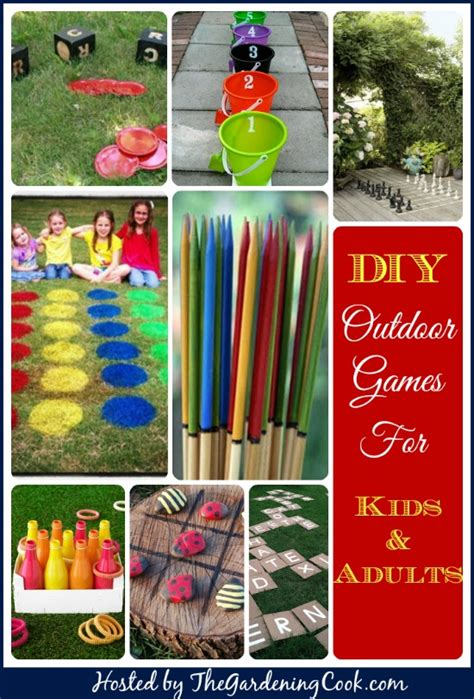 diy backyard games for adults outdoor games for kids and adults the gardening cook