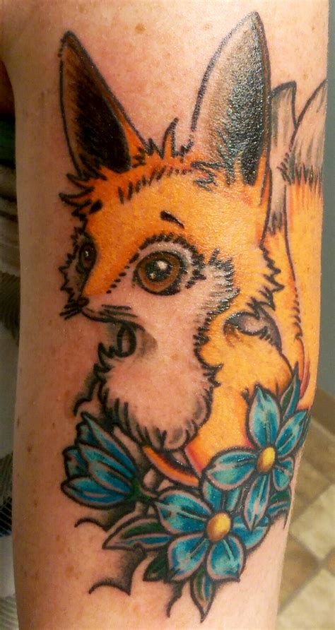 kitsune fox tattoo skinhouse studio