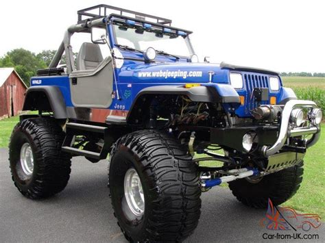 monster jeep monster jeep chevy 3 4 ton running gear