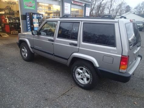 how make cars 2001 jeep cherokee parental controls find used 2001 jeep cherokee sport classic 4x4 xj 4 0 box style jeep no reserve in staten