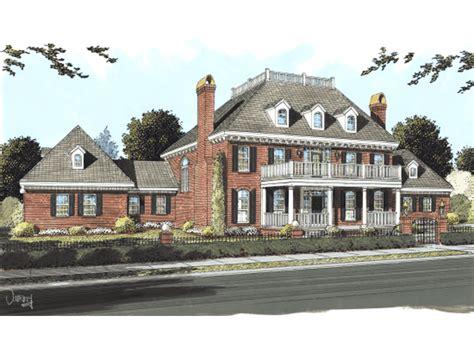 oaktree estate luxury home plan 130d 0183 house plans