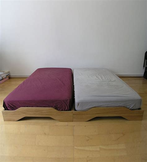 stackable beds flute stackable single bed teak by komfort furnishers