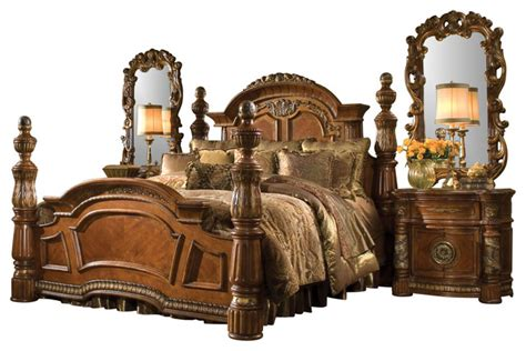 valencia bedroom set 5 piece villa valencia california king bedroom set