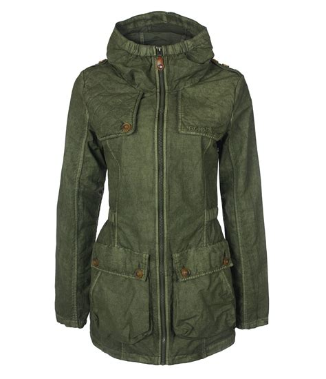 bench jacket canada bench edendale jacket in green lyst