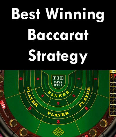 Winning Strategies In A Descontructing World baccarat strategy system archives best baccarat winning