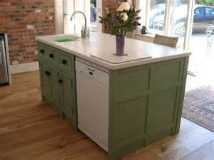 great compact kitchen island with belfast sink and a