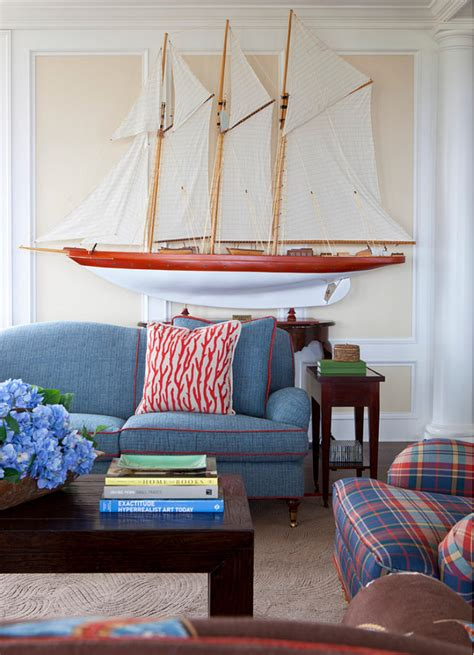 Coastal Interiors by Traditional Nantucket Cottage With Coastal Interiors
