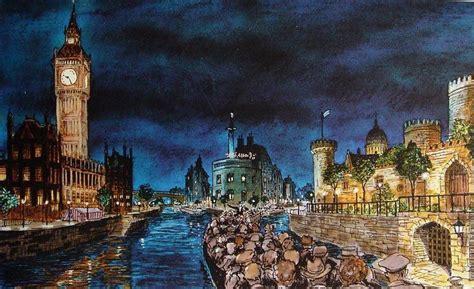 Thames River Ride | a walt disney ride that never was keystothekingdombook