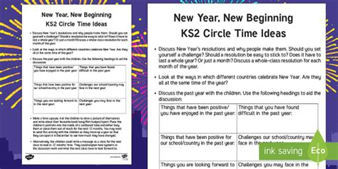 new year for ks2 ks2 new year circle time teaching ideas new year new new