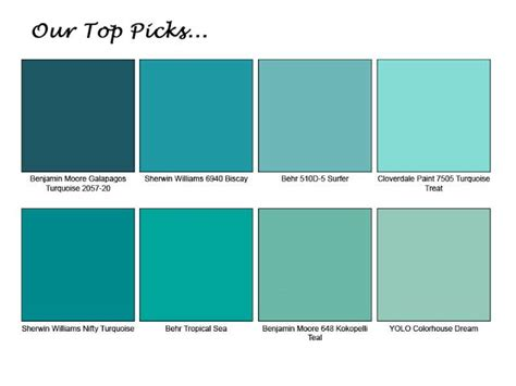 what colors make turquoise 25 best ideas about turquoise paint colors on