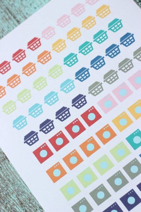 free printable laundry planner stickers free printable laundry planner stickers for erin condren