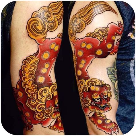 koi lion tattoo japanese tattoo shoulder best tattoo ideas gallery