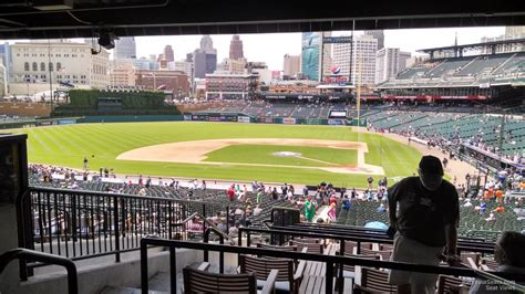comerica park seating tiger den www imgkid the