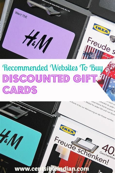 Where To Buy Gift Cards At A Discount - recommended websites to buy discounted gift cards centsible indian