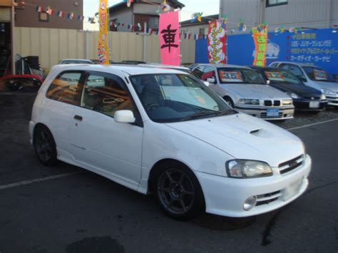 Toyota Starlet Glanza V Turbo For Sale Toyota Starlet Glanza V Turbo Ep91 For Sale Car On Track
