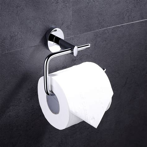 Bathroom Accessories Toilet Roll Holder Solid Brass Wall Mounted Toilet Roll Holder Chrome Finish Bathroom Accessories Ebay