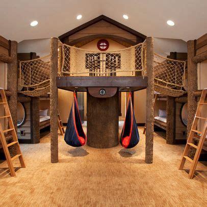 indoor treehouse play room idea kids design ideas