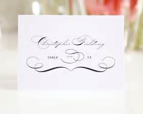 vintage wedding place cards with script place cards by shine