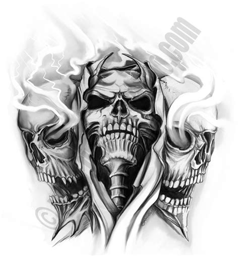 tattoo flash of skulls 273 best skull images on pinterest skull tattoos tattoo